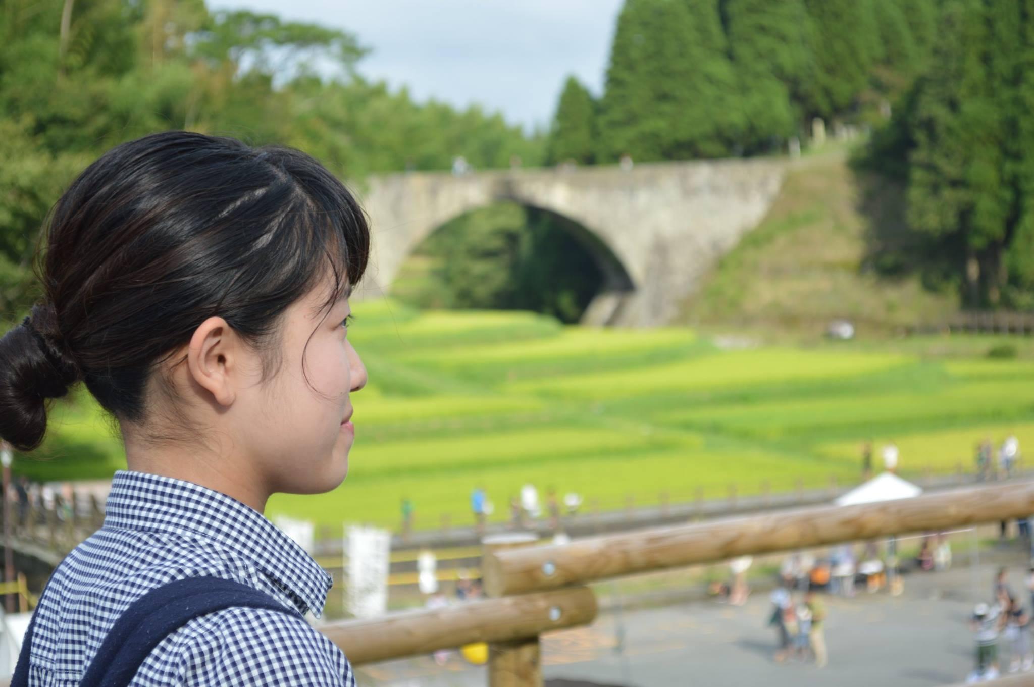 57地域女子通潤橋